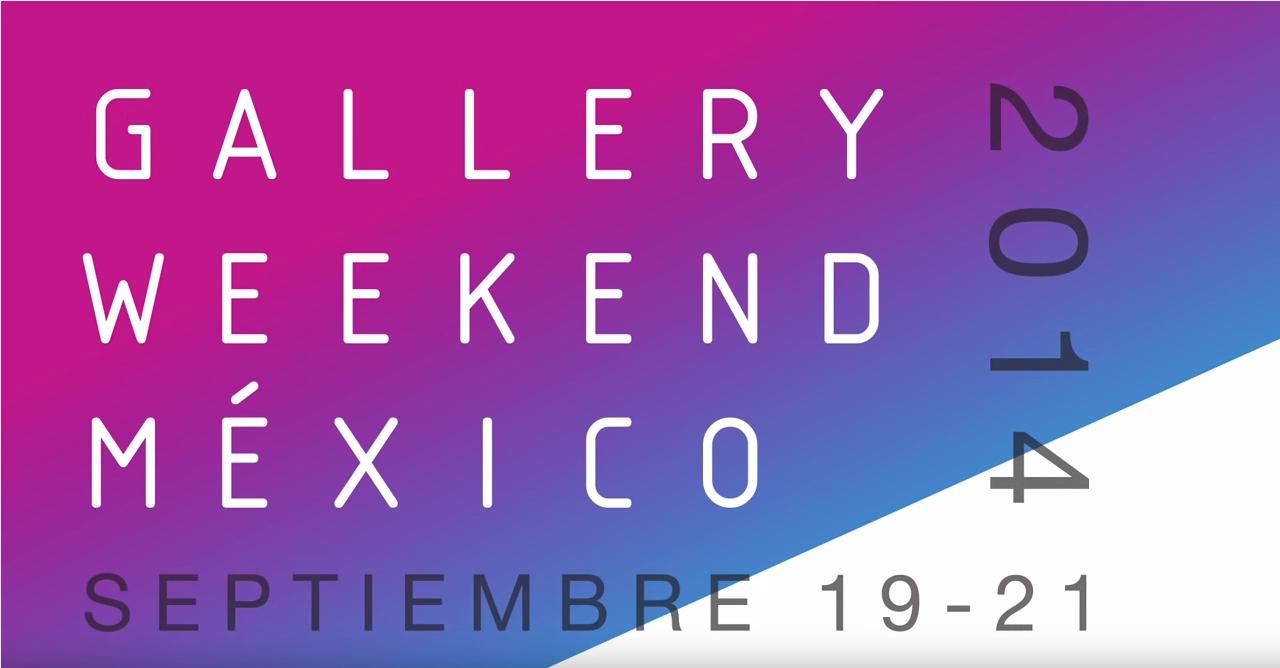 gallery weekend 2014